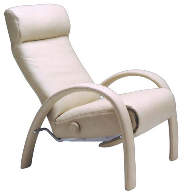 Bjork Reclining Chair By Lafer Modern Recliner Chairs By Spacify Inc