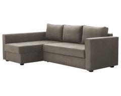 MÅNSTAD Corner Sofa-Bed with Storage modern-futons