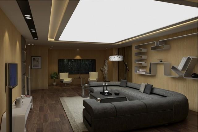Limitless - 3D Living Room modern-living-room