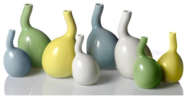 Bulbino Vases - Set of 2 - Kahler modern