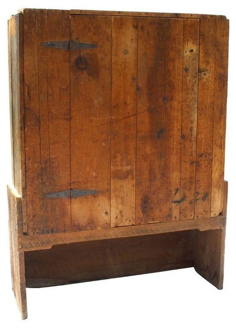 Pre-owned Primitive Hutch - Rustic - China Cabinets And Hutches - by Chairish