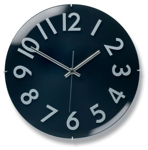 Nuevo Gillam Clock White contemporary clocks