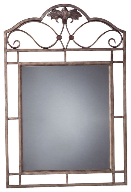 Rectangular Console Mirror W Wrought Iron Fra Contemporary Wall Mirrors By Ivgstores