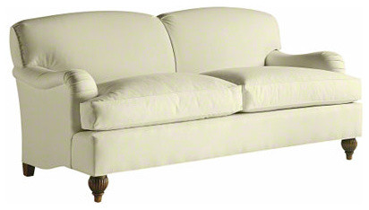 Tight Back English Sofa traditional sofas