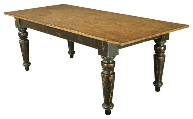 New 7 Foot Rustic Farm House Table Natural Farmhouse  : farmhouse dining tables from houzz.com size 640 x 394 jpeg 31kB