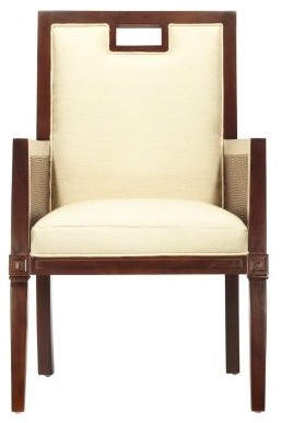 Corfu Arm Chair - Hazelnut modern-dining-chairs
