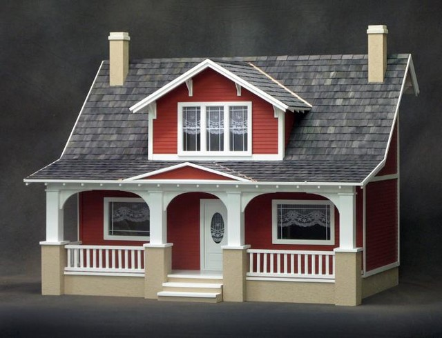 RGT Classic Bungalow Dollhouse Kit - Modern - Kids Toys And Games - by Manchester Dollhouse and ...