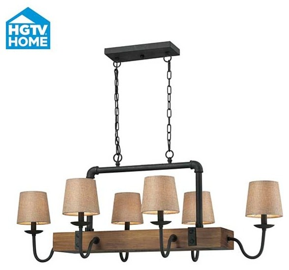 HGTV Early American Chandelier craftsman