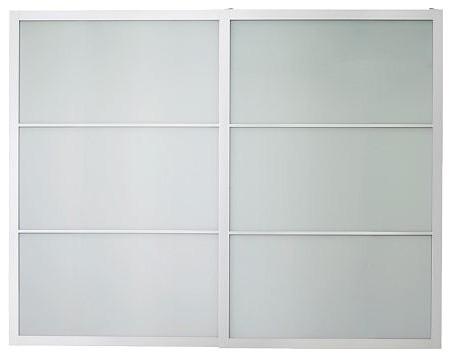 PAX LYNGDAL Pair of sliding doors modern-dressers