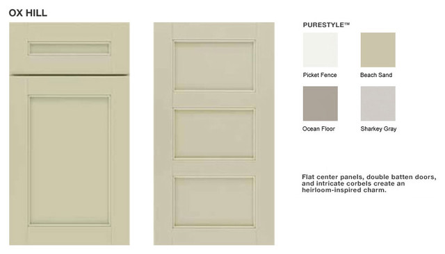 Ox Hill Cabinet - Martha Stewart Living Kitchens traditional kitchen cabinets
