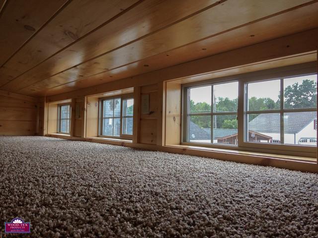 Park Model Cabin Sleeping Loft transitional-prefab-studios