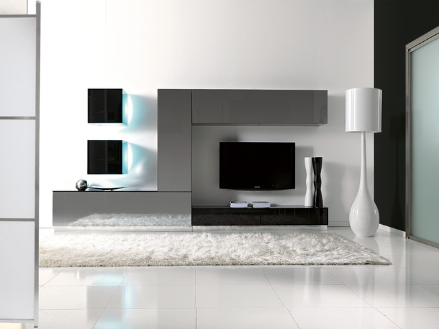 Italian Wall Systems - Contemporary - Display And Wall Shelves - chicago - by IQmatics