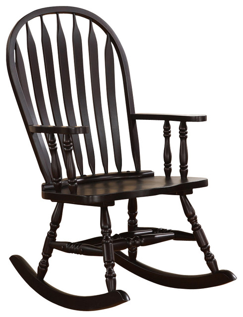 ... Windsor Back Rocking Chair - Transitional - Rocking Chairs - by Beyond
