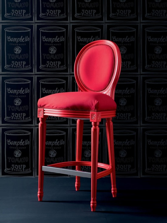 Creazioni Fiammetta Barstool - Red FIAMMETTA BARSTOOL Creazioni. From £1,070. Ships worldwide. Email ilive@imagine-living.com