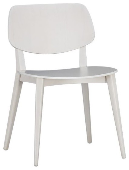 Scoop Side Chair modern dining chairs and benches