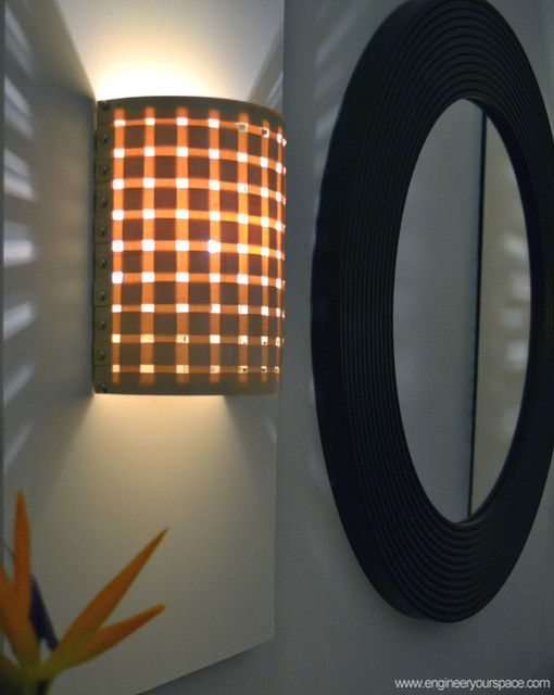 Wall Sconces Diy : DIY Wall Sconces with customizable shades - new york - by Engineer Your Space