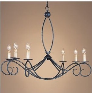 Cheshire Oval Chandelier traditional-chandeliers