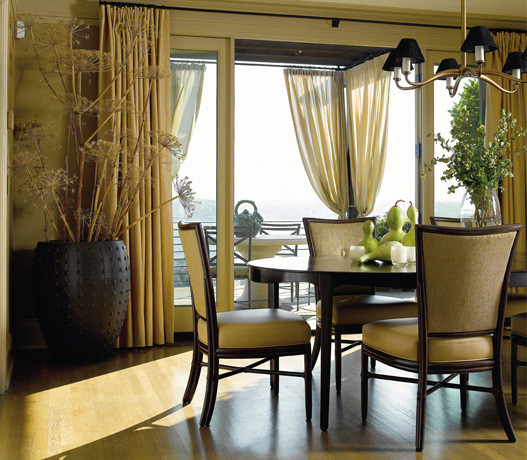 Historic Transitional Home contemporary-dining-room