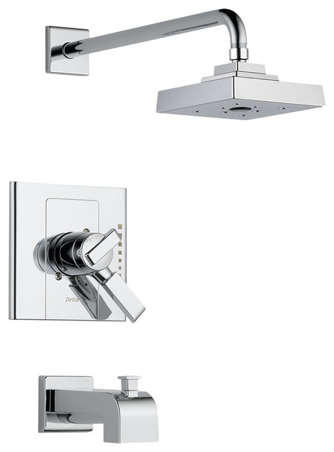 Delta Monitor(R) 17 Series Tub and Shower Trim - T17486 modern-showers