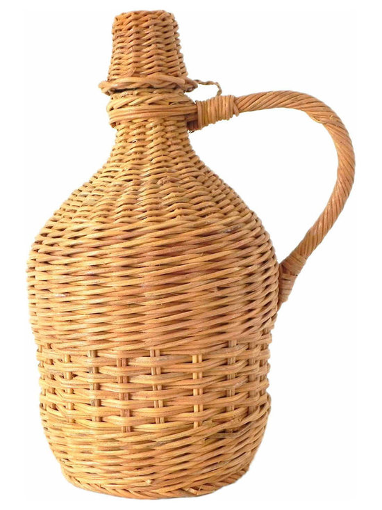 Wicker Demijohn - Decorative wicker demi john to serve margarites, mojitos or sangria's at your next party in style. These bottles come in all shapes and sizes with different types