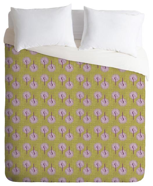 Caroline Okun Aspergillus Twin Duvet Cover contemporary-duvet-covers