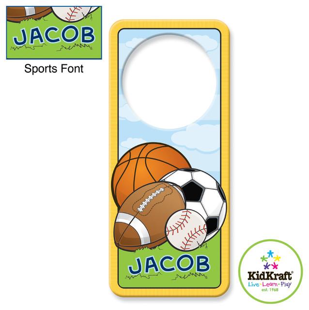 Kidkraft Kids Sports Door Hanger From Vistastores traditional-kids-decor