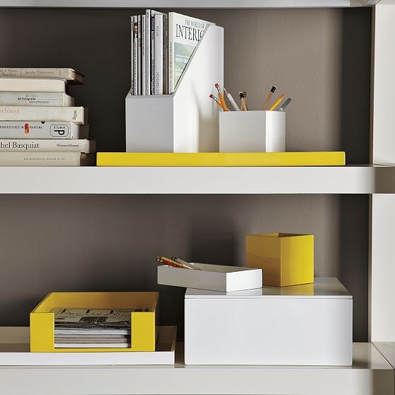 Lacquer Office Accessories - Modern - Desk Accessories - by West Elm
