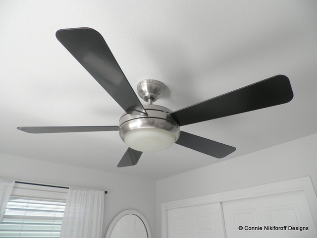 Restful Master Bedroom Modern Ceiling Fans Other Metro By Connie Niki