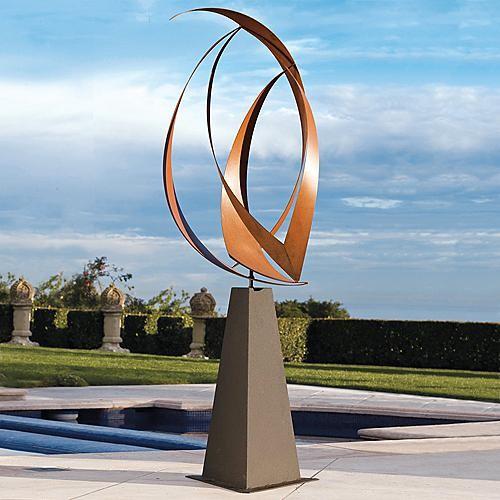 Rotation Outdoor Sculpture - Frontgate modern-artwork