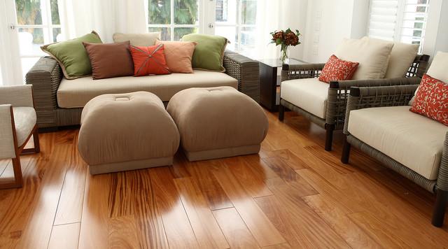 Afzelia - Modern - Hardwood Flooring - other metro - by ...