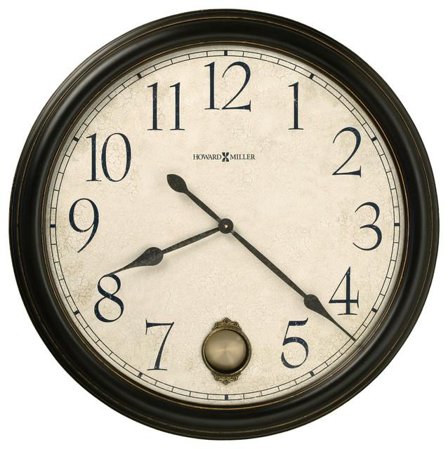 "Howard Miller Falls 36"" Gallery Wall Clock traditional-wall-clocks"