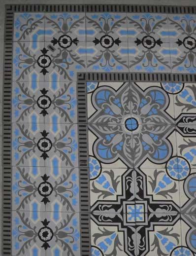 Cuban Heritage Design Handmade Cement Tile tile