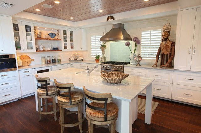 Naples Florida Cottage Tropical Kitchen Other Metro By Ren E Gaddis Interiors
