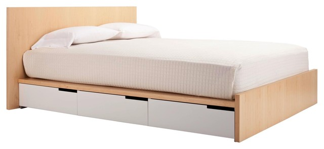 Modu-licious Full Bed by Blu Dot modern beds