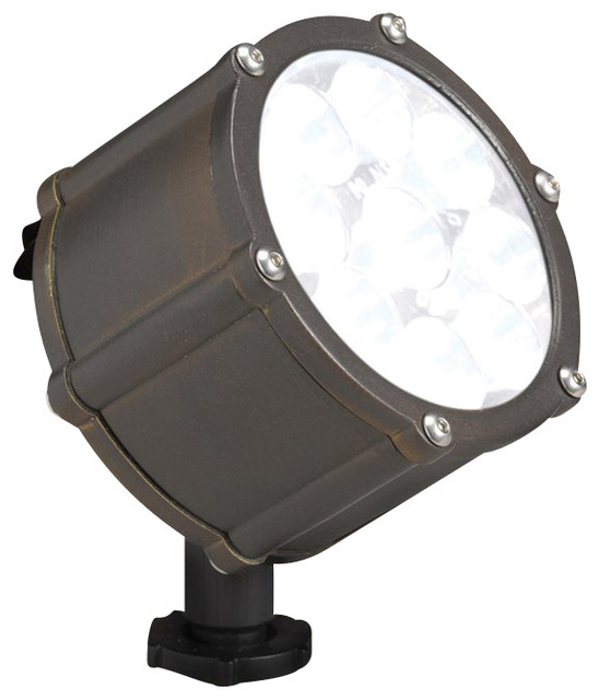 Landscape 12 4w 10 degree spread landscape led accent light x rbb15751 contemporary outdoor - Exterior accent lighting for home ...