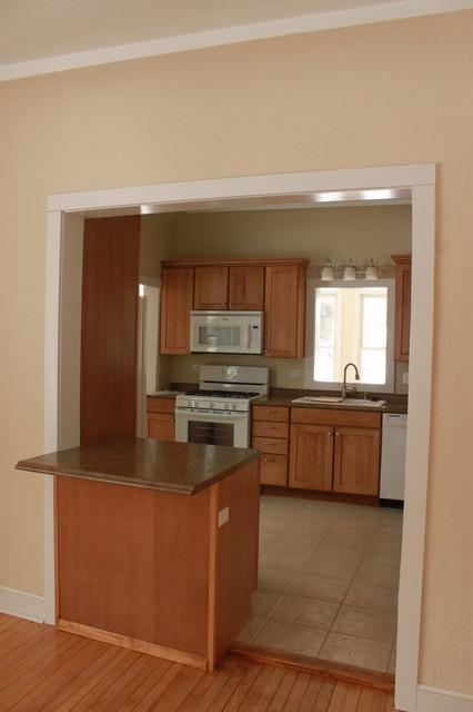 Bethel remodel transitional kitchen chicago by for Bethel kitchen designs
