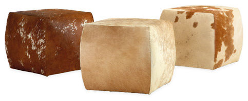 Lind Cowhide Ottomans Ottomans And Cubes By Room Amp Board