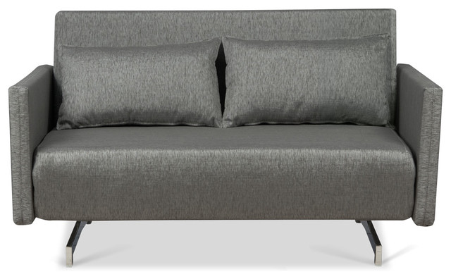 Dendera B Grey Sleeper Couch modern-futons