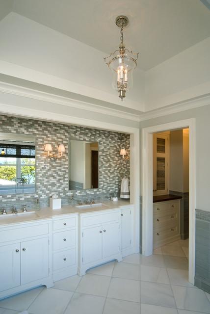 Elegant  Bathroom Lighting And Vanity Lighting Traditionalbathroomvanity