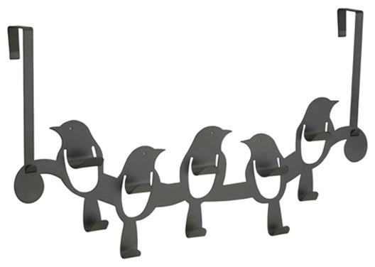 Birdseye 10 Hook contemporary-hooks-and-hangers