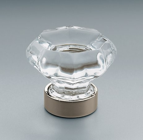 Traditional Clear Glass Knob traditional-cabinet-and-drawer-knobs