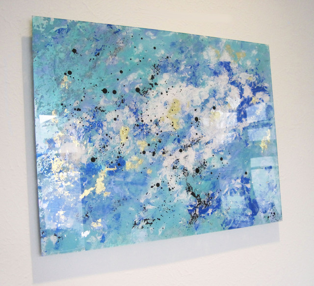 contemporary artwork &quot;Cosmic Dust&quot; Plexiglass Painting