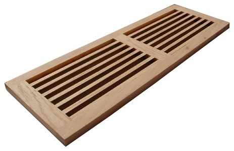 """Wood Vents, 8""""x24"""" Wood Cold Air Return Vents modern-registers-grilles-and-vents"""