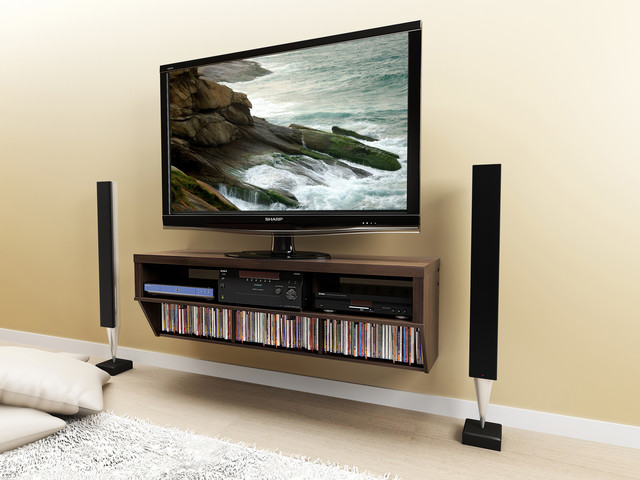 Floating Entertainment Consoles - Modern - Entertainment Centers And Tv Stands - vancouver - by ...