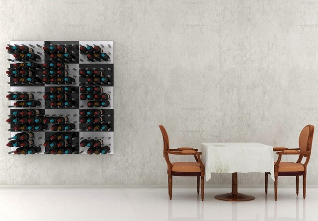 Vinowall - modular wall art for wine contemporary-home-decor