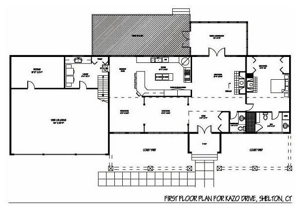 House Renovation Shelton Ct Floor Plan New York By I M Design Llc