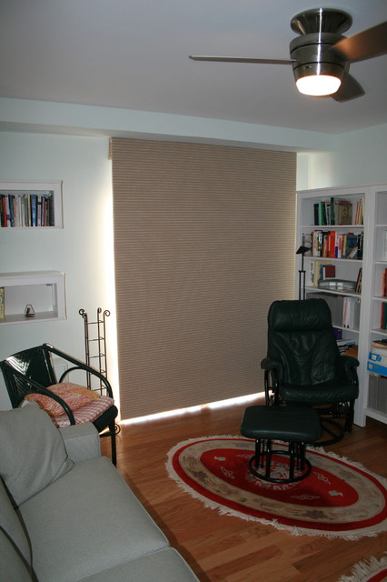Simple Solutions in Window Treatments - blinds, shades, shutters, valances, more transitional