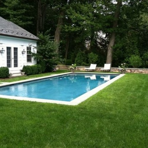 Thoughts Re Grass Only No Pavers Patio Around Pool