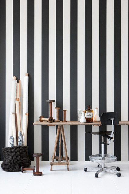 Vertigo Wallpaper by Ferm Living modern-wallpaper