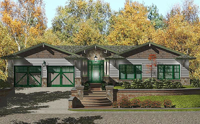 Prefab Homes Custom House Plan Craftsman Style 3